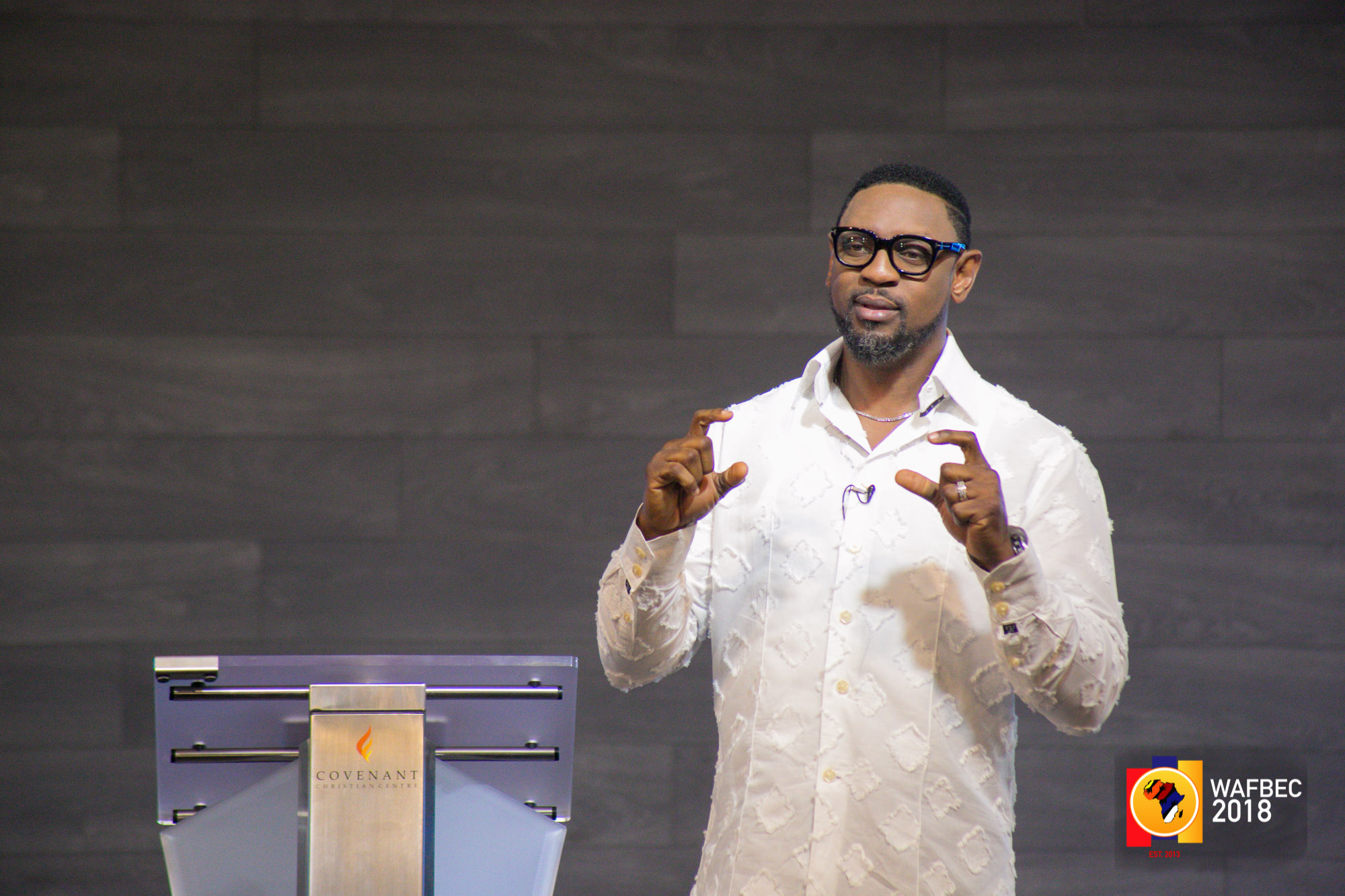 WAFBEC 2018 – Day 2 (Afternoon Session 2) with PASTOR BIODUN FATOYINBO