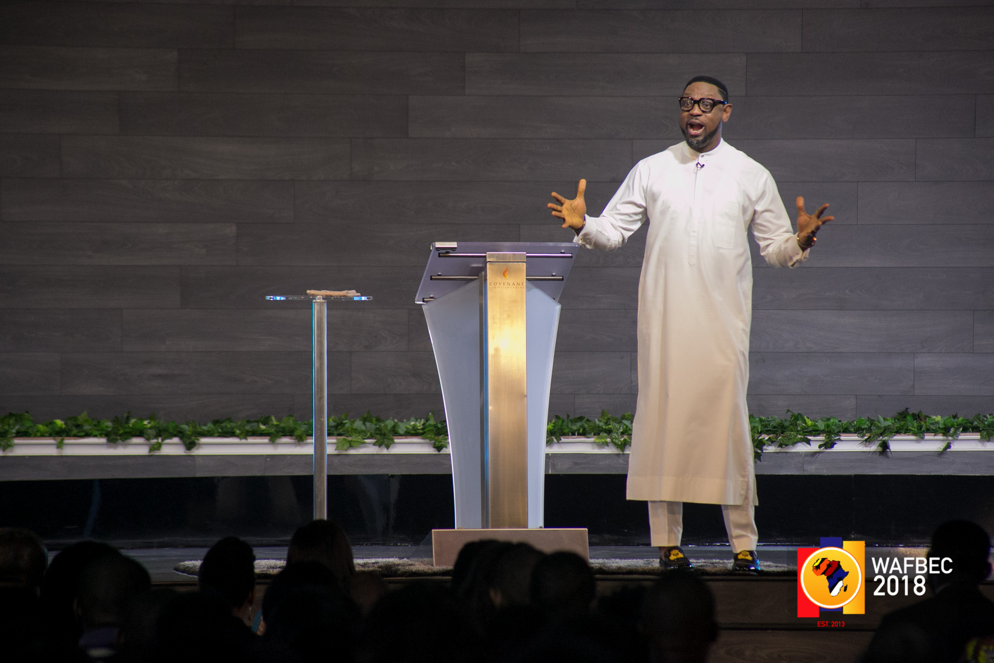WAFBEC 2018 – Day 3 (Afternoon Session 1) with Rev. Biodun Fatoyinbo