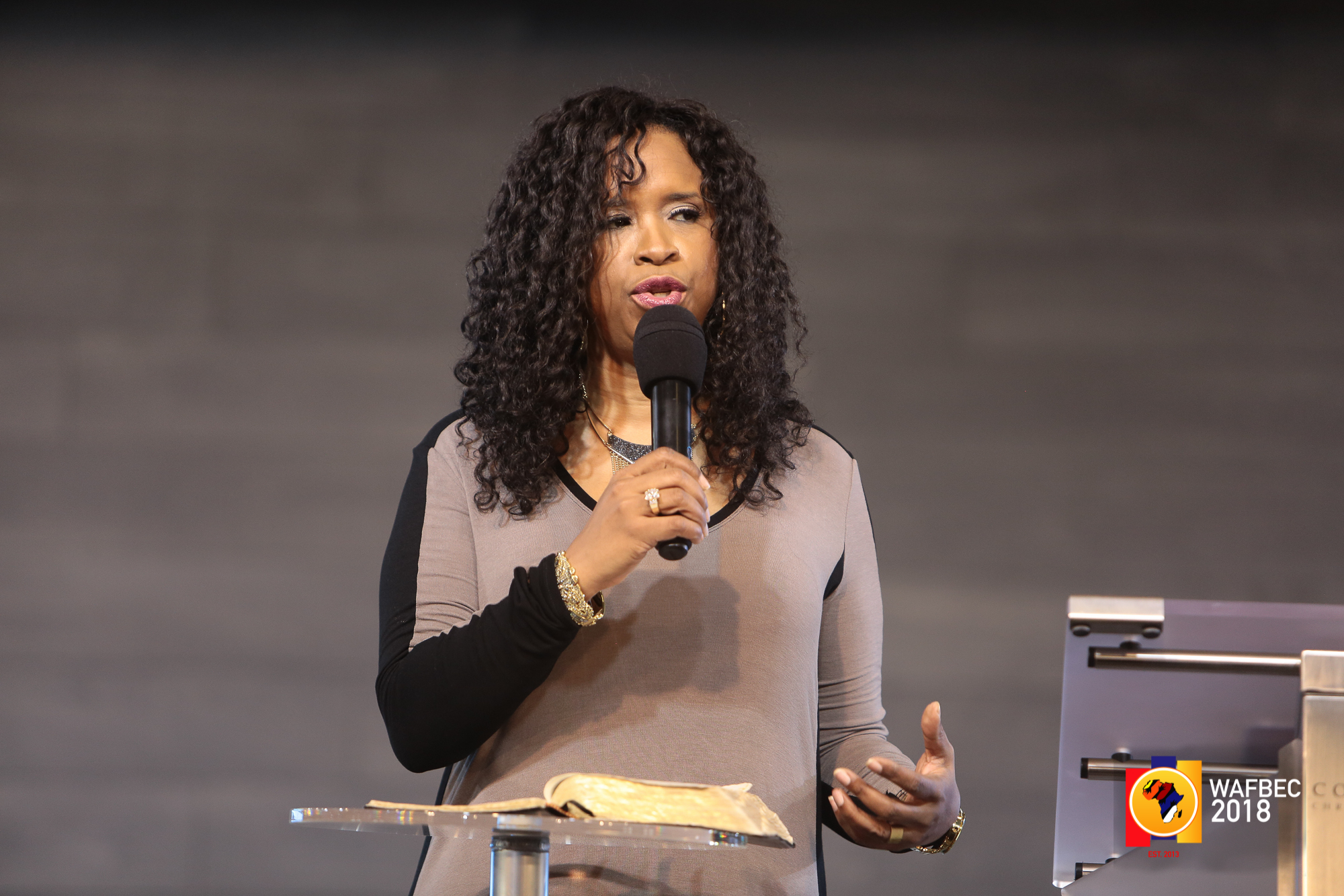 WAFBEC 2018 – Day 4 (Morning Session 3) with Pastor Taffi Dollar