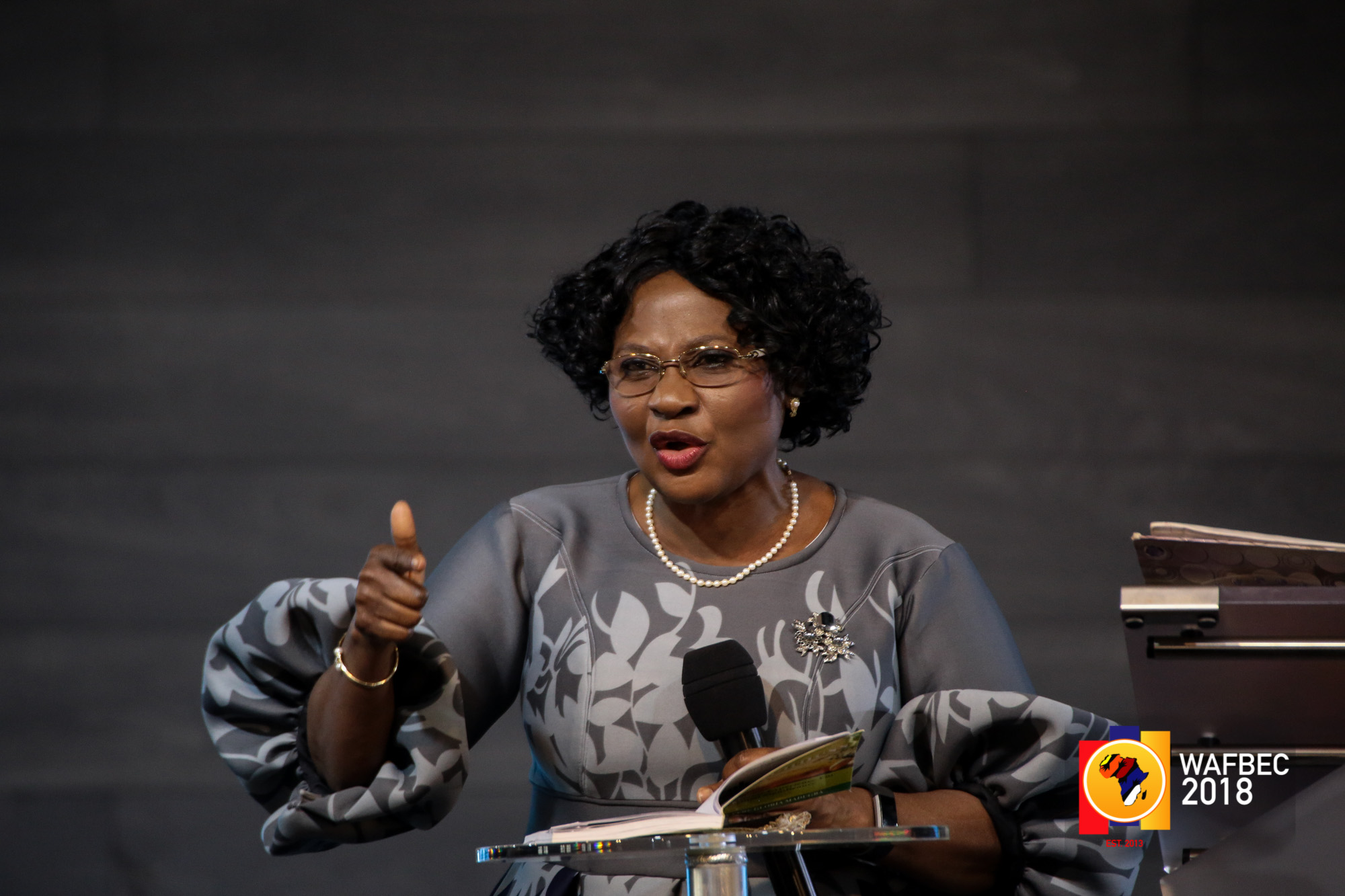 WAFBEC 2018 – Day 7 (Afternoon Session 1) with Pastor Sarah Omakwu