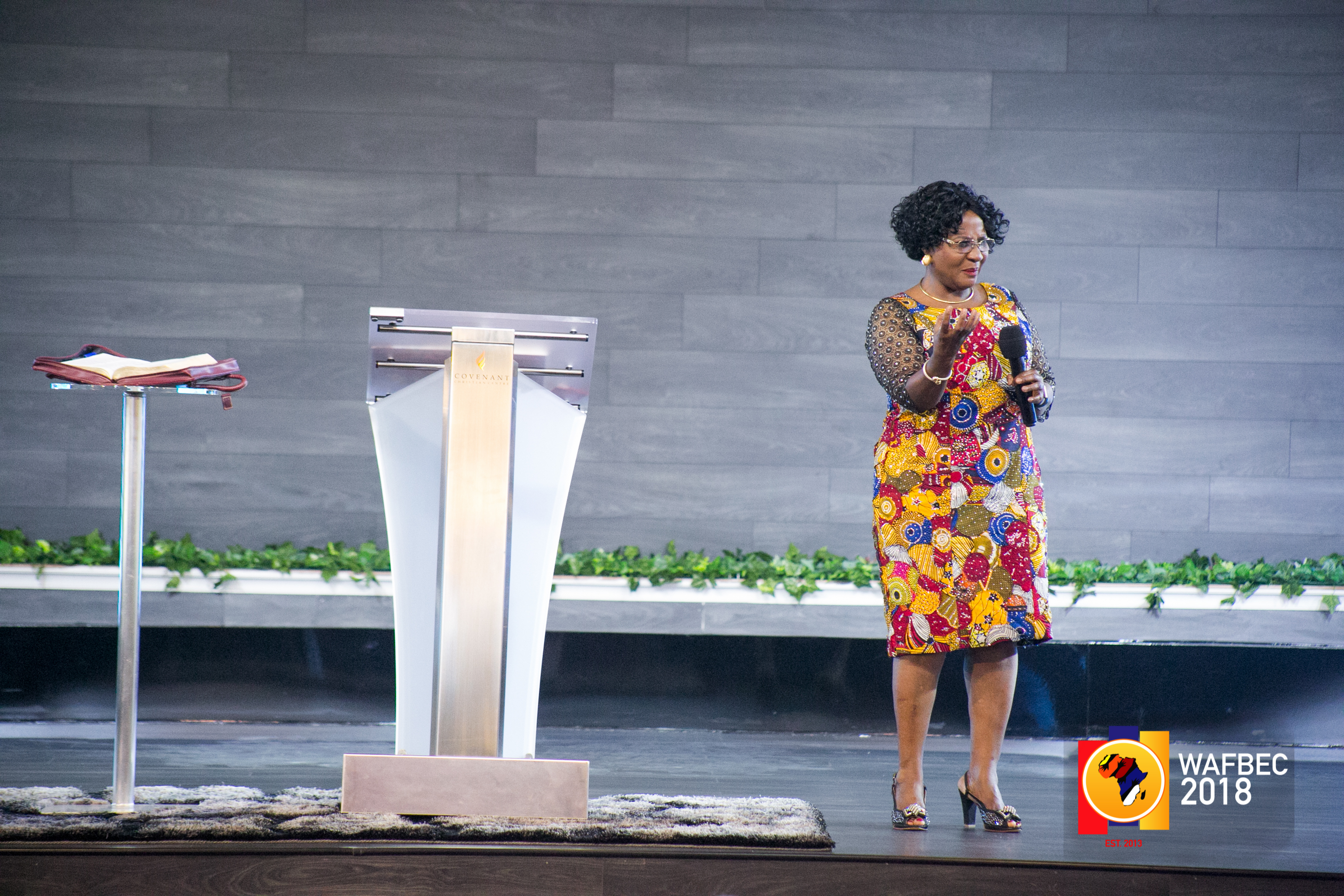 WAFBEC 2018 – Day 8 (Afternoon Session 1) with Pastor Sarah Omakwu