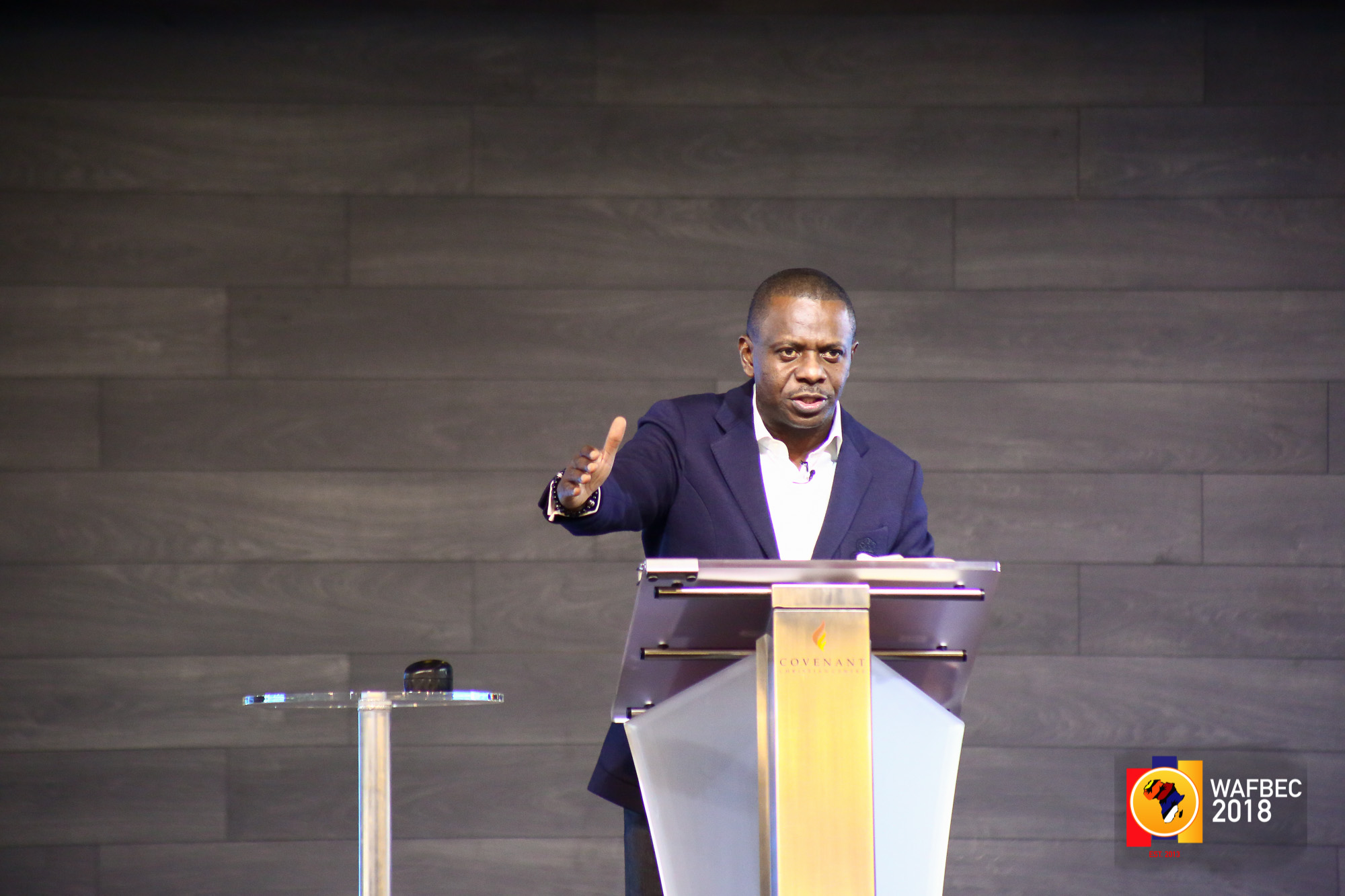 WAFBEC 2018 DAY 2 (AFTERNOON SESSION 1) with PASTOR POJU OYEMADE