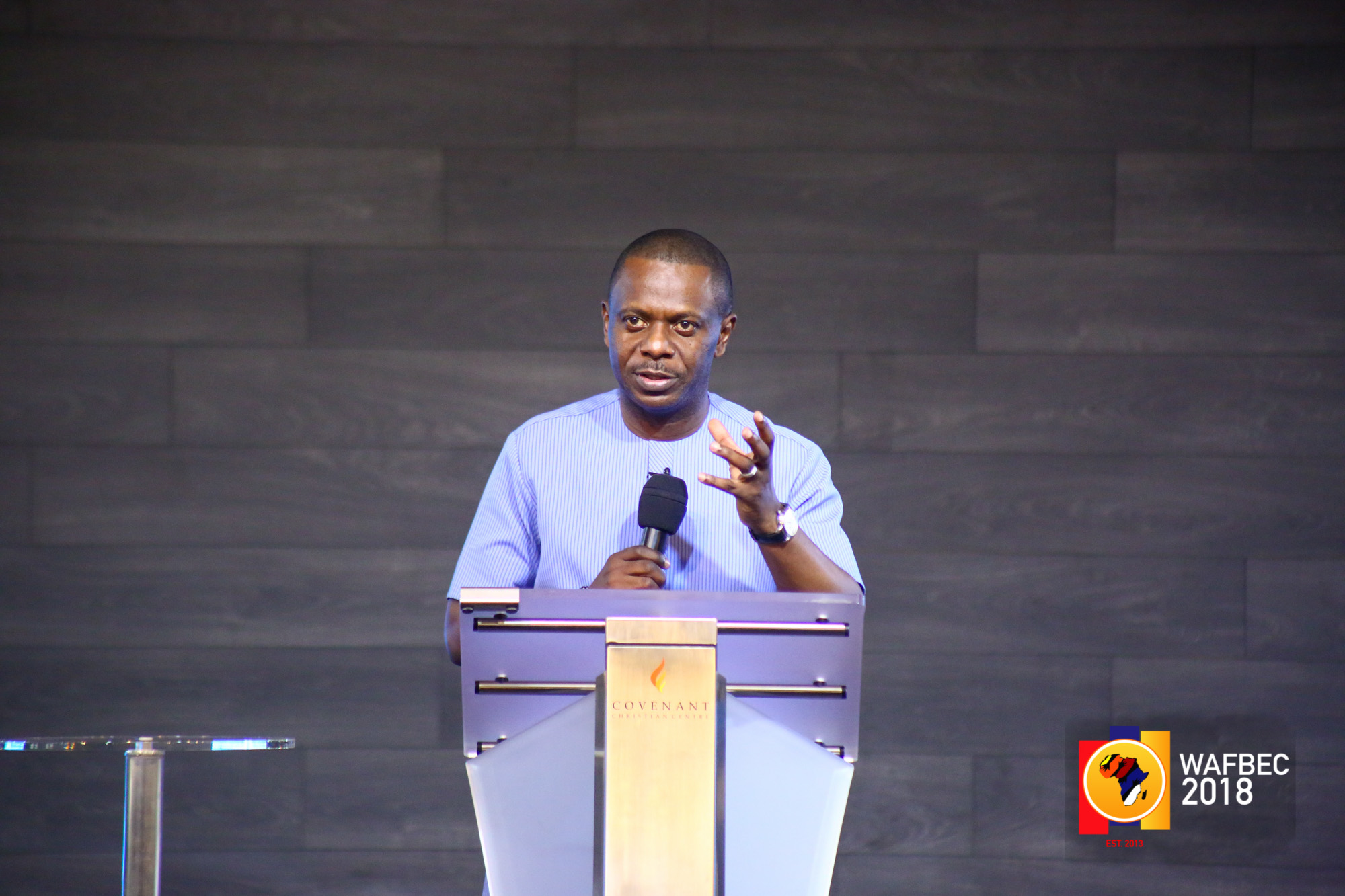 WAFBEC 2018 – DAY 3 (Morning Session 2) with PASTOR POJU OYEMADE