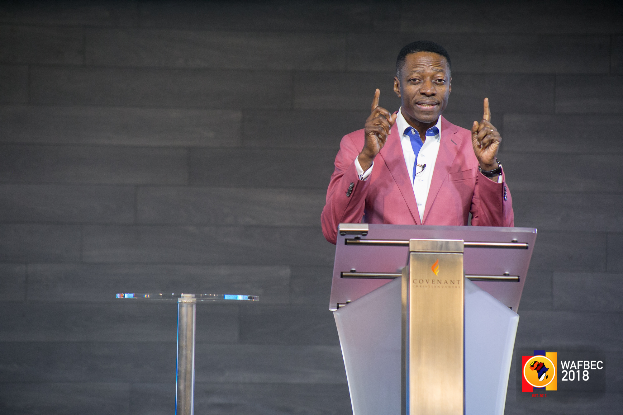 WAFBEC 2018 – (DAY 3 EVENING SESSION 1) with  REV. SAM ADEYEMI