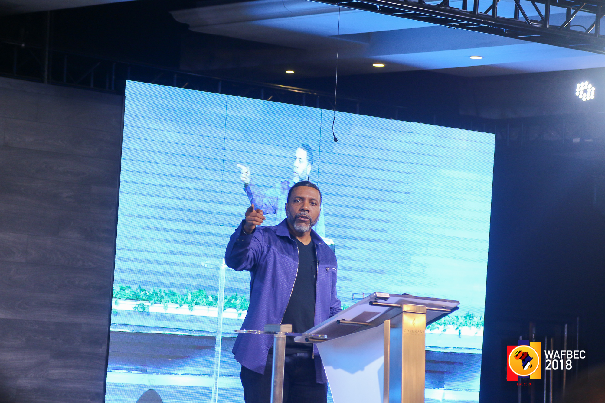 WAFBEC 2018 – DAY 4 (EVENING SESSION 1) with Dr. Creflo Dollar