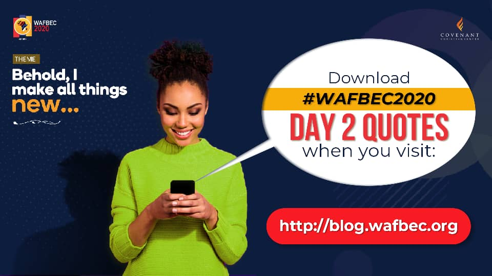 #WAFBEC2020 Quotes – Day 2